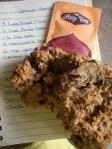 Tea, Oatmeal, Wheat/Spelt Flour, Sunflower Seeds, Dried Cranberries